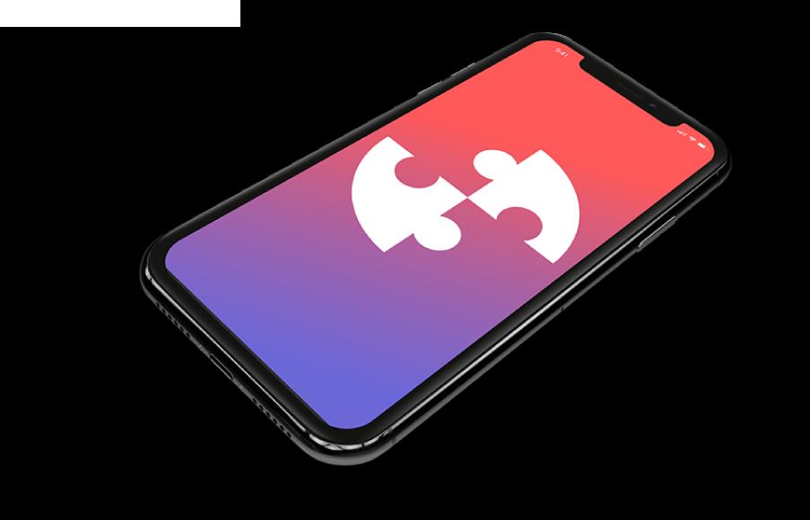 Logo de Crea Tu Aplicación en un smartphone