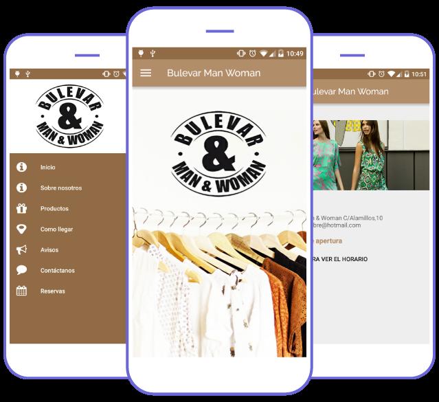 App Bulevar, uno de los ejemplos de app creada con Crea Tu Aplicación