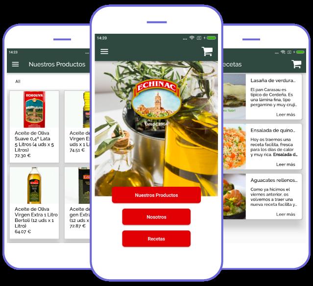 App RS Petrol, uno de los ejemplos de app creada con Crea Tu Aplicación