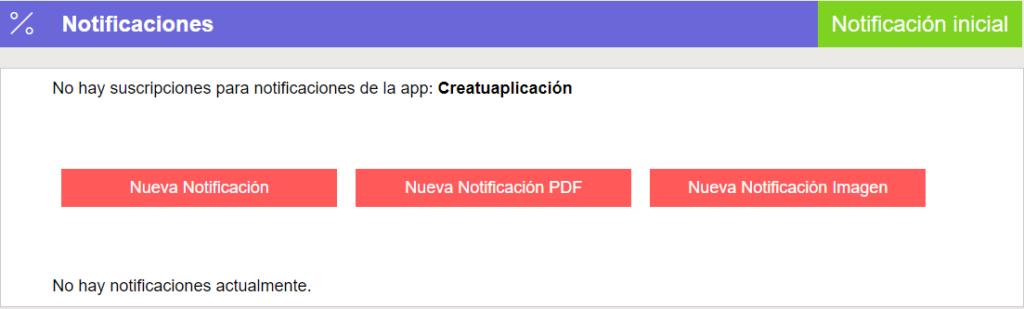 Crea y envía notificaciones push