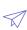 Icono de avión de papel