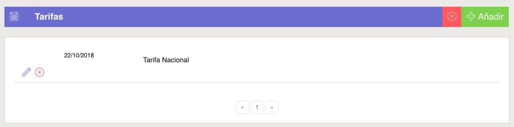 Tarifas, una de las variables de la tienda online app