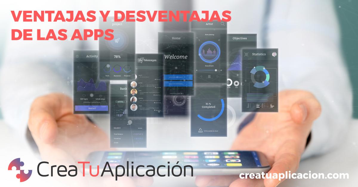 ventajas app, desventajas app